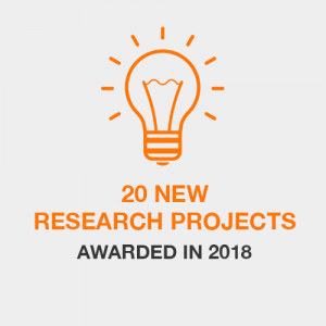 20 New Research Projects Awarded in 2018