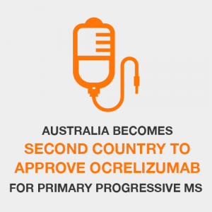 Australia Becomes Second Country to Approve Ocrelizumab for Primary Progressive MS