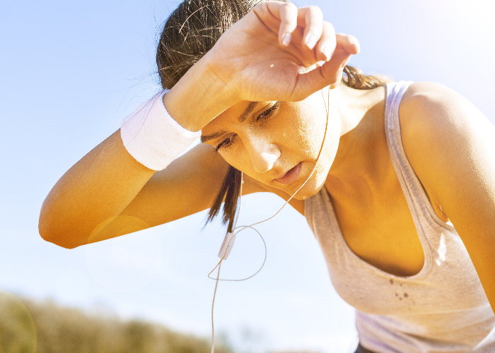 ms and heat fatigue