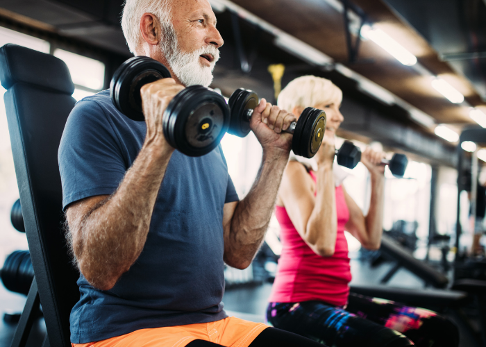 exercise and ms